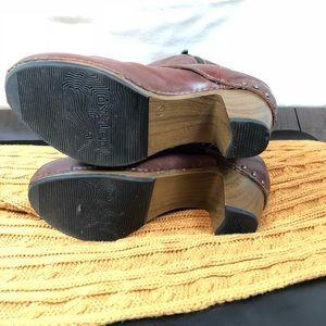 Dansko Shoes - Dansko Rylan Crazy Horse Boots Brown Size 40 Clogs